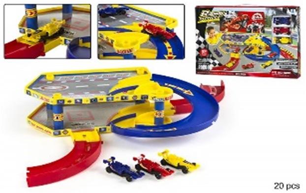 Garaj/parcare ColorBaby,F1,3 masini incl