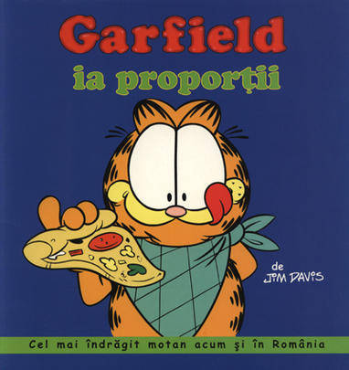 GARFIELD IA PROPORTII - BENZI DESENATE