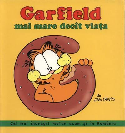 GARFIELD MAI MARE DECAT VIATA...