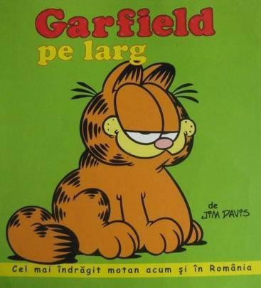 GARFIELD PE LARG - BENZI DESENATE