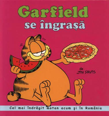 GARFIELD SE INGRASA - BENZI...