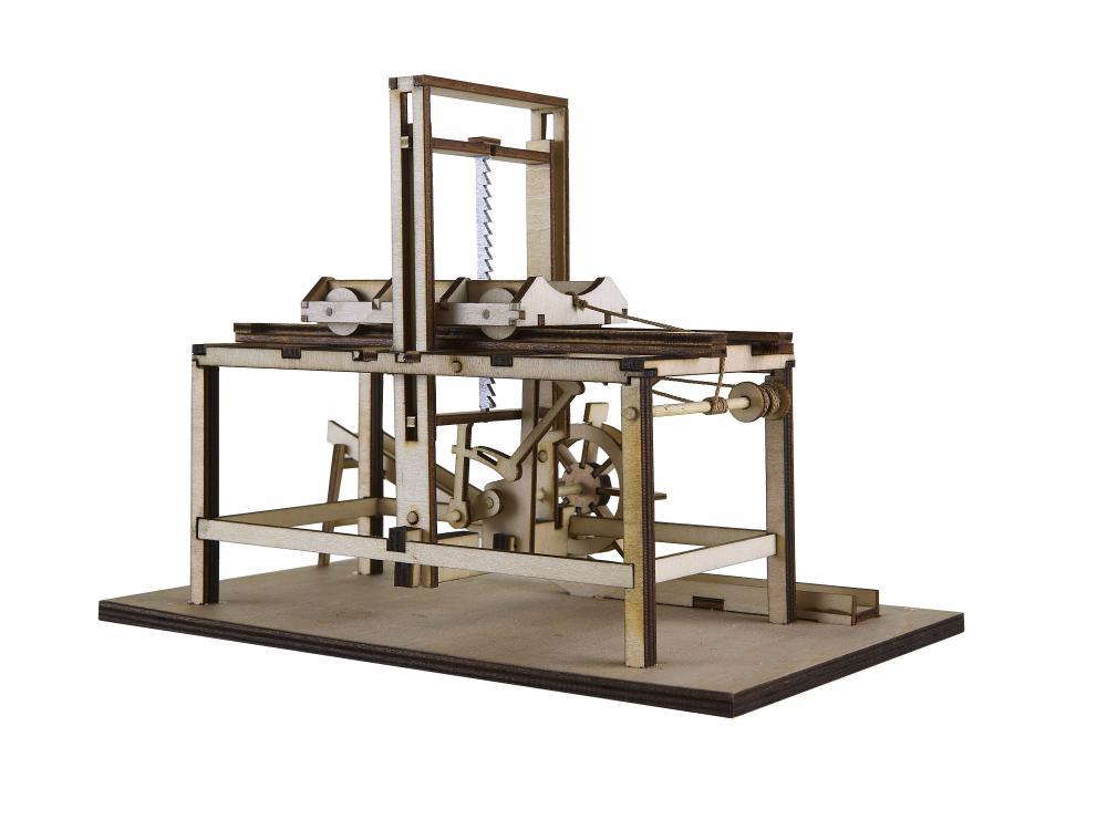 Gater hidraulic lemn Leonardo da Vinci