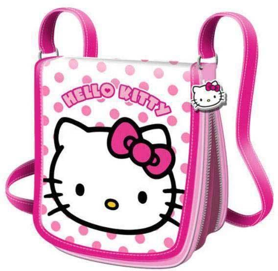 Geanta umar 20.5x20.5x8cm,Hello Kitty Dots