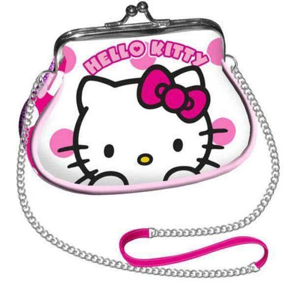 Geanta umar Mini Retro,Hello Kitty Dots