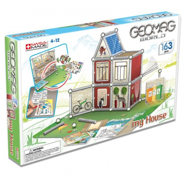 Geomag Casa mea 163 pcs.