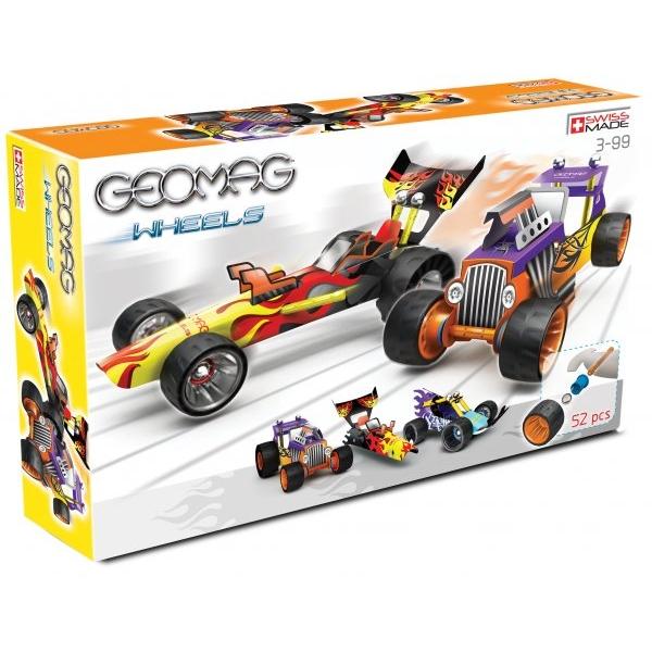 Geomag wheels 52 pcs.
