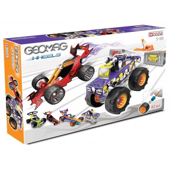 Geomag wheels 62 pcs.