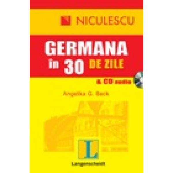 Germana in 30 zile cu cd - Angelika Beck
