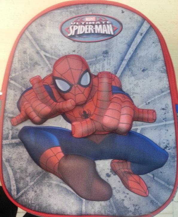 Ghiozdan 3D,Spiderman