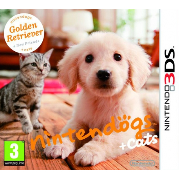 GOLDEN RETRIEVER & NEW 3DS
