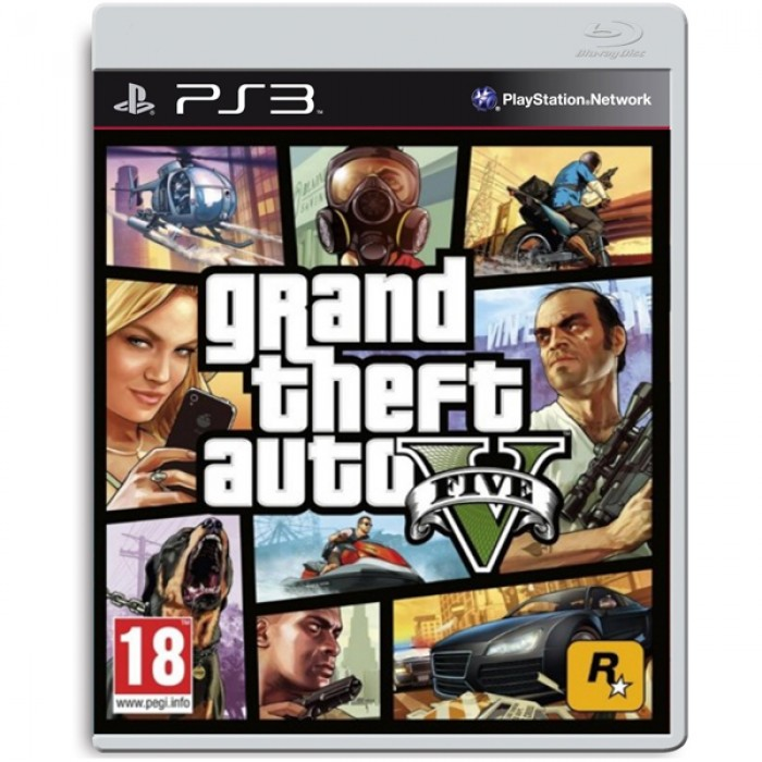 GRAND THEFT AUTO 5 SPECIAL EDITION - PS3