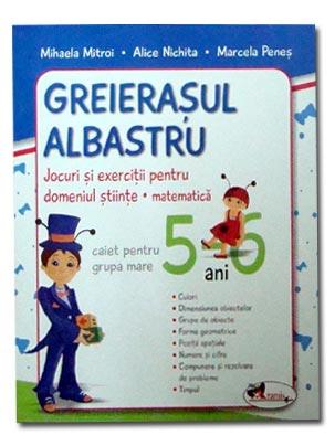 Greierasul albastru 5-6 ani Editia 3 (NOU)