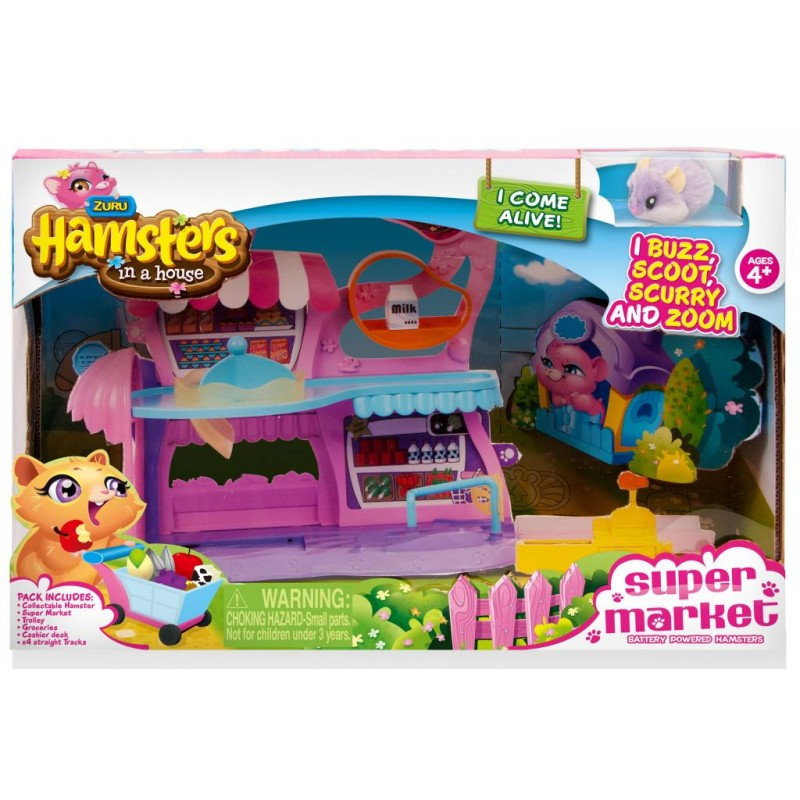 Hamsters,Supermarket cu...