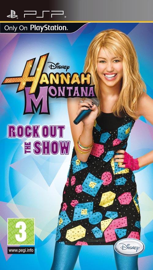 HANNAH MONTANA: ROCK OU PSP