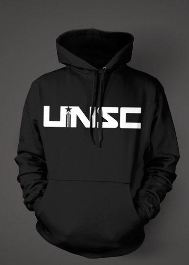 Halo 4 - UNSC - Hoodie, black,L