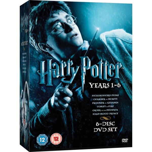 HARRY POTTER 1-6 BOX HARRY POTTER 1-6 BOX