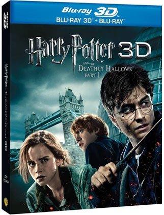 HARRY POTTER DEATHLY HALLOWS 3D: PART 1 -HARRY POTTER SI TALISMANELE MORTII 3D: PARTEA 1 (BR3D+BR)