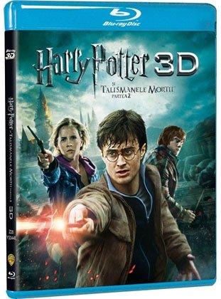 HARRY POTTER DEATHLY HALLOWS 3D: PART 2 -HARRY POTTER SI TALISMANELE MORTII 3D: PARTEA 2 (BR3D+BR)
