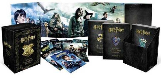 HARRY POTTER COLECTIA COMPLETA (24 DVD)