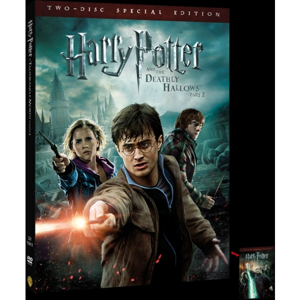 HARRY POTTER  DEATHLY HALLOWS PART 2 LENTICULAR -HARRY POTTER SI TALISMANELE MORTII: PARTEA 2