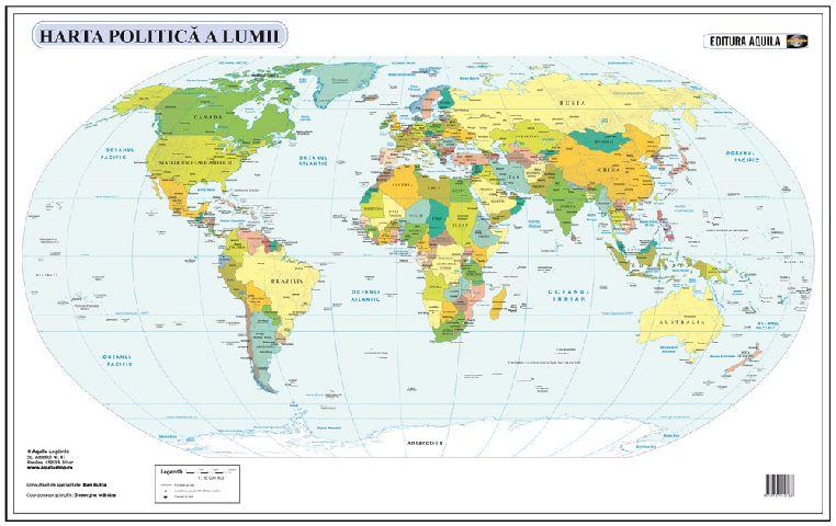 Harta lumii...
