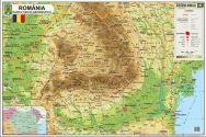 Harta Romania,fizica/adm.,70/100cm