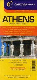 Harta Rutiera Atena 1:12.000, ***