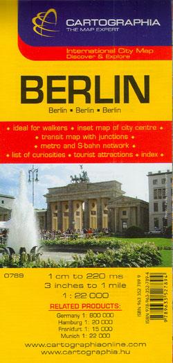 Harta rutiera Berlin 1 :20.000