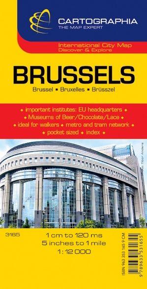 Harta rutiera Bruxelles 1 :12.000