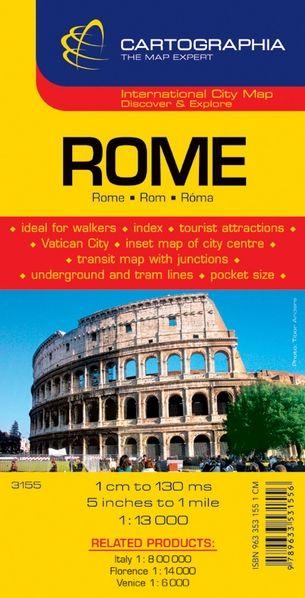 Harta rutiera Roma 1 :13.000