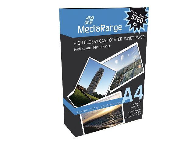 Harte foto lucioasa A4 Media Range  100g 160 sheets