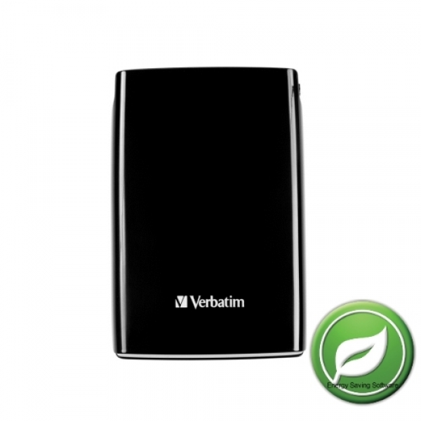 HDD ext Verbatim 320 GB 2.5   USB Blk