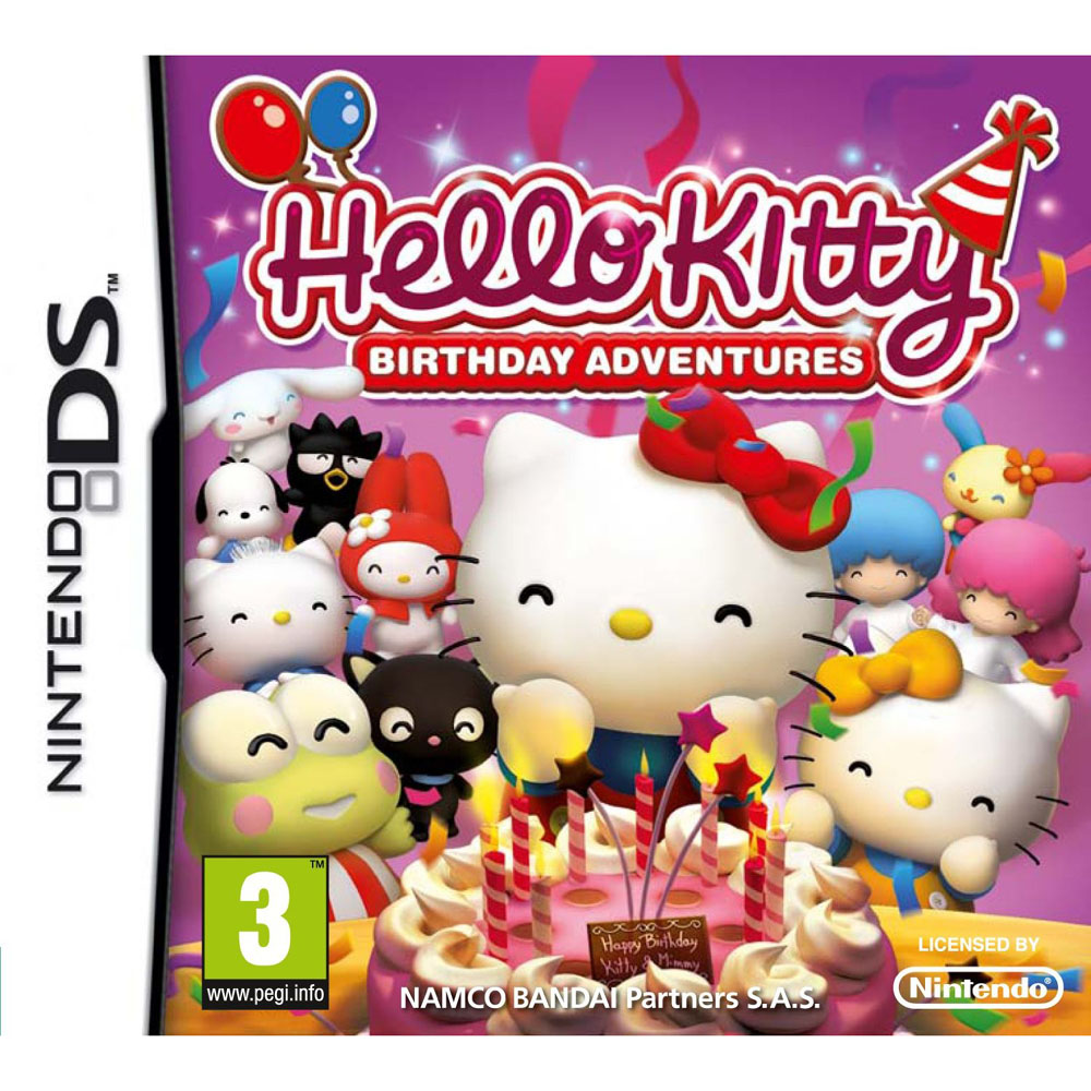 HELLO KITTY BIRTHDAY ADVENTURES - DS