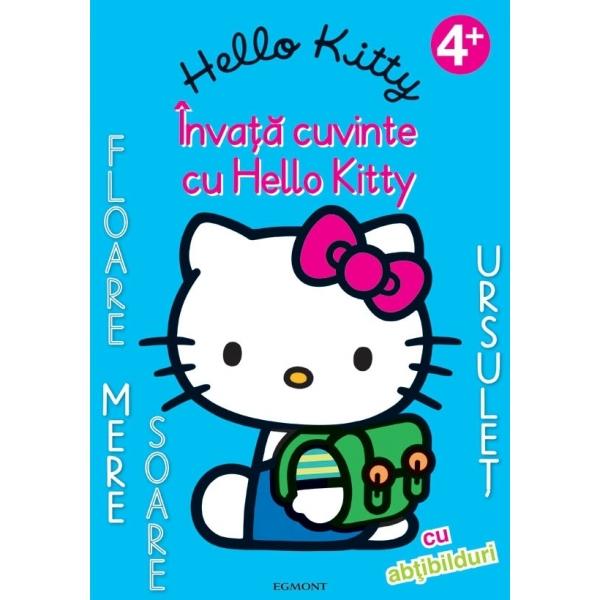 Hello Kitty - Invata cuvinte cu Hello Kitty, Sanrio