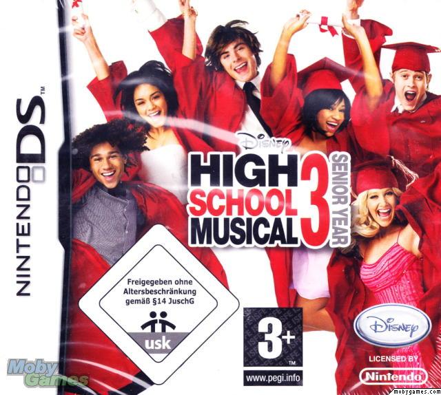 HIGH SCHOOL MUSICAL 3 SENIOR YEAR DANCE DS