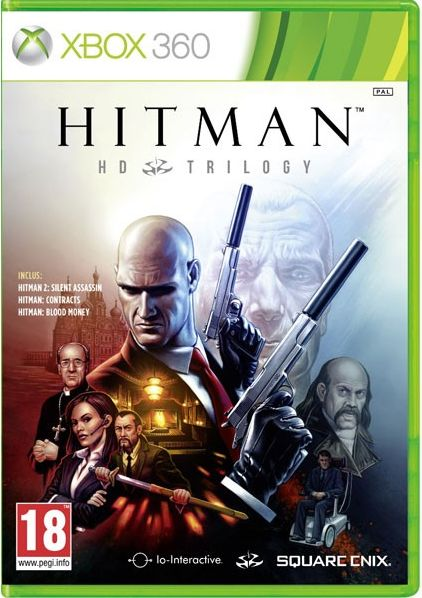 Hitman HD trilogy xbox360