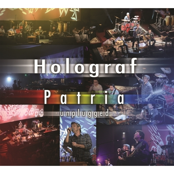 HOLOGRAF: PATRIA - UNPLUGGED (DVD+CD)