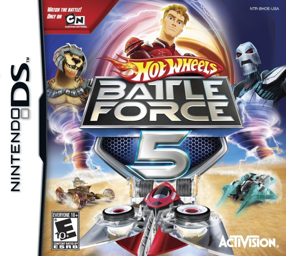 HOT WHEELS BATTLE FORCE 5 DS