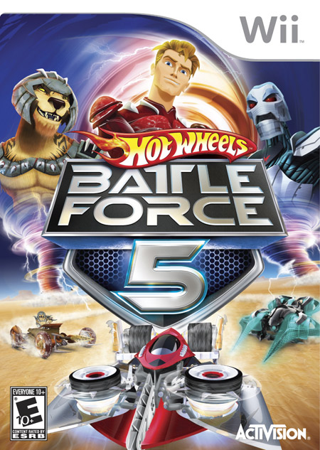 HOT WHEELS BATTLE FORCE 5 WII