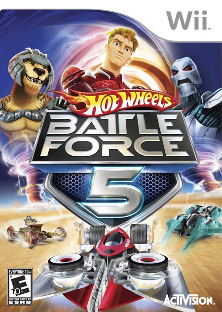 HOT WHEELS BATTLE FORCE 5 WII