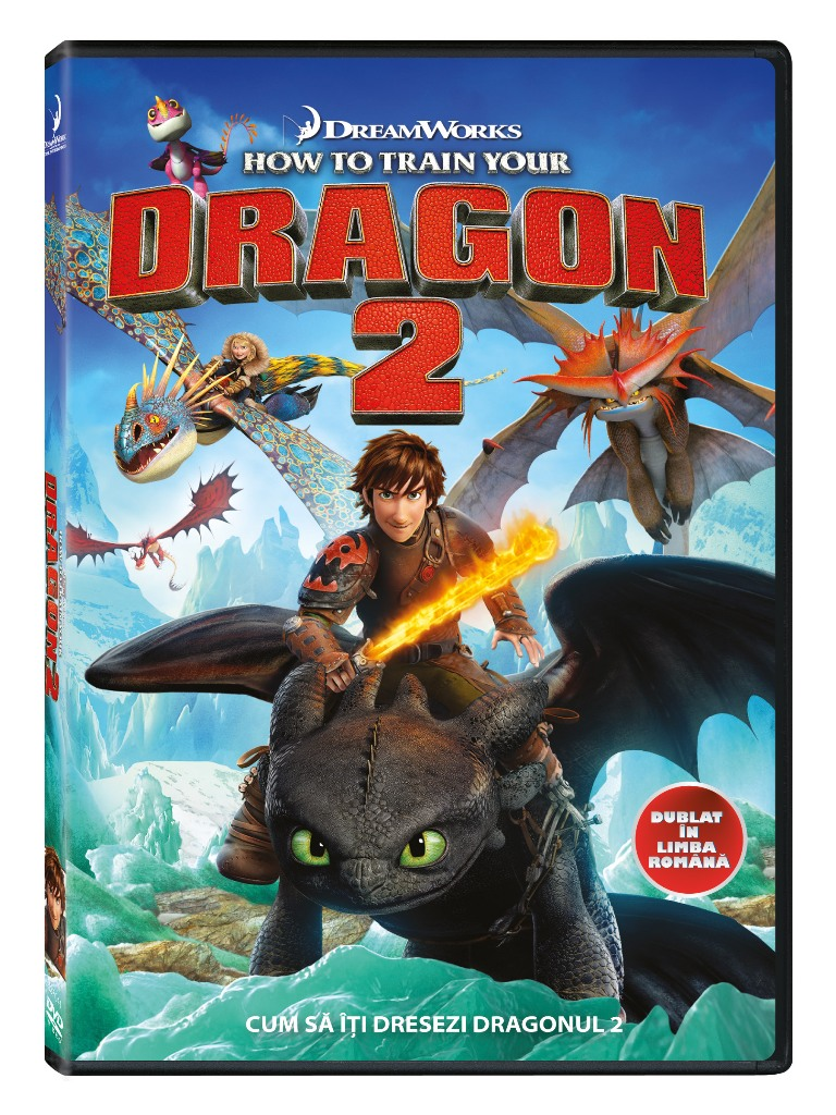 HOW TO TRAIN YOUR DRAGON 2 - CUM SA ITI DRESEZI DRAGONUL 2