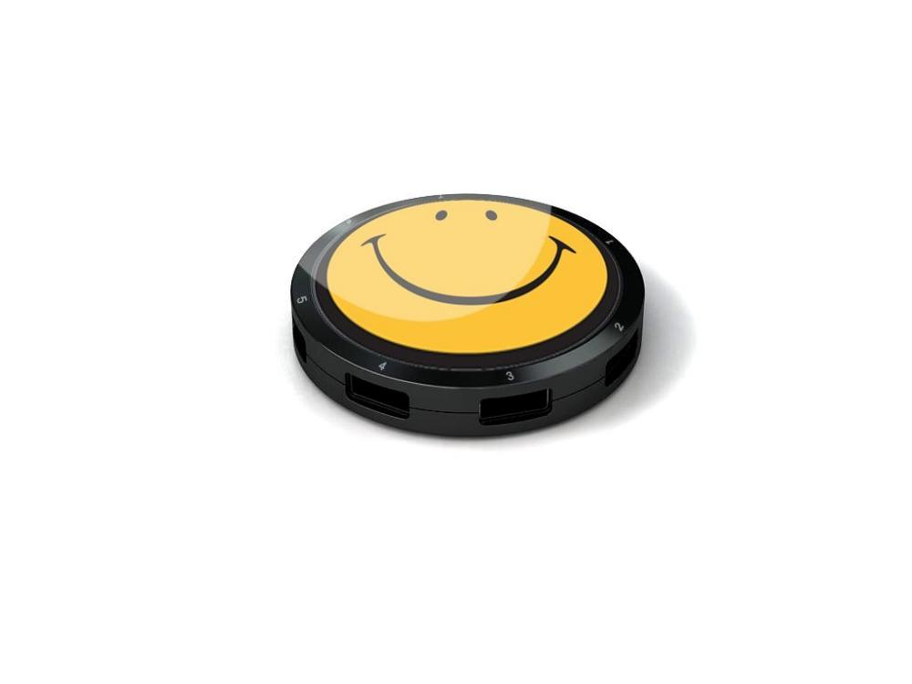 Hub usb 7 porturi Smiley Original