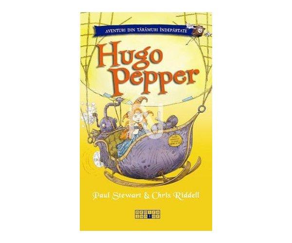 Hugo Pepper, Paul Stewart, Chris Riddell