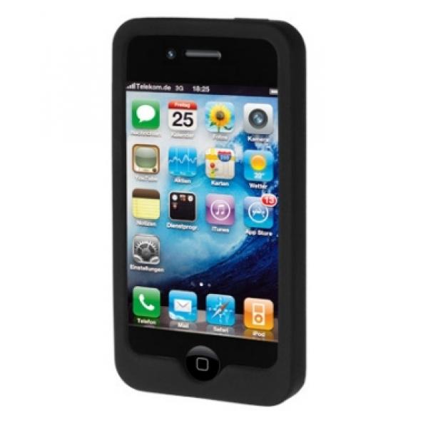 Husa Artwizz SeeJacket Silicone iPhone 4 , bk