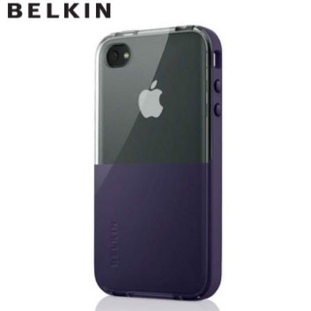 Husa Belkin APL iPhone 4 SS-Eclipse lila