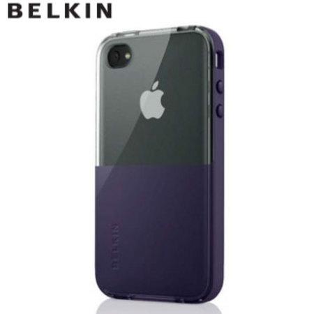 Husa Belkin APL iPhone 4 SS-Eclipse lila