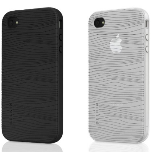 Husa Belkin iPhone Grip Edge White Pearl