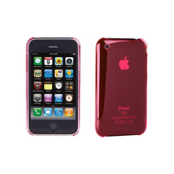 Husa Iphone piele Artwizz 3G red