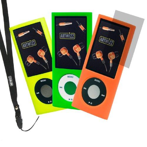 Husa iPod Silicon Artwi zz Nano 3pack