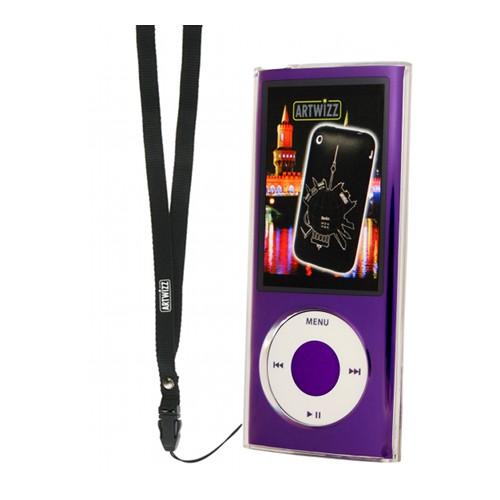 Husa iPod Silicon Artwi zz Nano Translucend